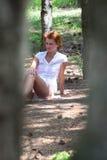 Młoda atrakcyjna dziewczyna ja Obraz Stock