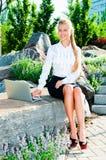 Młoda biznesowa kobieta Zdjęcia Stock