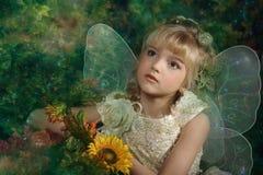 Młoda czarodziejka Obrazy Royalty Free