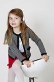 Młoda dama. Zdjęcia Stock