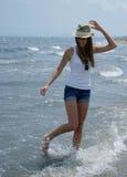 Młoda dziewczyna na wakacje Zdjęcie Stock