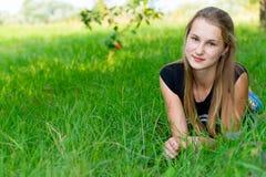 Młoda dziewczyna w naturze Fotografia Stock