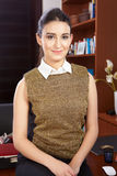 Młoda kobieta w biurze Zdjęcie Stock