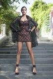 Młoda kobieta w lato sukni Obraz Royalty Free