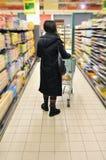Młoda kobieta w zakupy Fotografia Royalty Free