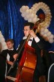 Młoda muzyk orkiestra symfoniczna St Petersburg stanu uniwersytet kultura Zdjęcie Stock