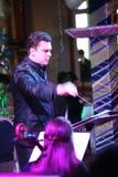 Młoda muzyk orkiestra symfoniczna St Petersburg stanu uniwersytet kultura Obrazy Royalty Free