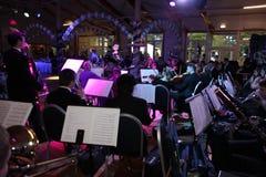Młoda muzyk orkiestra symfoniczna St Petersburg stanu uniwersytet kultura Fotografia Royalty Free