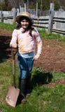 Młoda ogrodniczka Obrazy Royalty Free