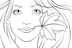 Młoda redhair kobieta Obrazy Royalty Free