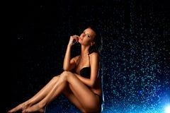 Młoda seksowna kobieta Obraz Royalty Free