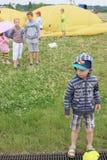 Młoda widownia maraton Zdjęcia Stock