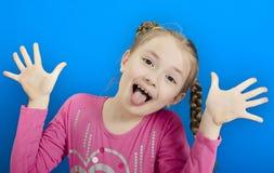 młode dziewczyny radosny Zdjęcia Stock