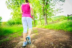 młode kobiety bieganie Fotografia Royalty Free