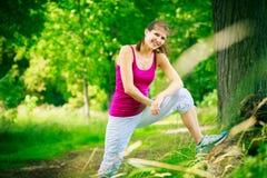 młode kobiety bieganie Fotografia Stock