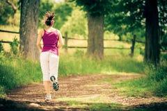młode kobiety bieganie Obrazy Stock