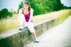 młode kobiety bieganie Zdjęcie Stock