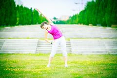 młode kobiety bieganie Zdjęcie Royalty Free