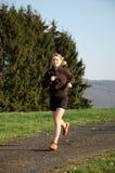 młode kobiety bieganie Obraz Stock