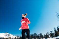 młode kobiety bieganie Obraz Royalty Free