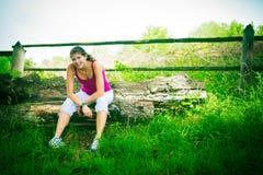 młode kobiety bieganie Zdjęcia Royalty Free