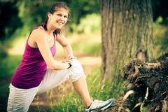 młode kobiety bieganie Obrazy Royalty Free