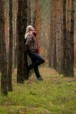 młode lasowe kobiety Obraz Stock