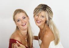 młode portret kobiety dwa Fotografia Royalty Free