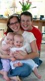 młode rodziny Obraz Royalty Free