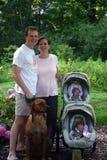 młode rodziny Zdjęcie Royalty Free