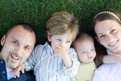 młode rodziny Fotografia Stock