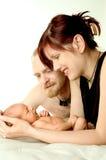młode rodziny Fotografia Royalty Free