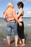 młodej dwa kobiety Obrazy Stock
