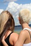młodej dwa kobiety Fotografia Stock