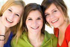 młodej trzy kobiety Zdjęcie Royalty Free