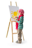 Młody artysta Obrazy Royalty Free