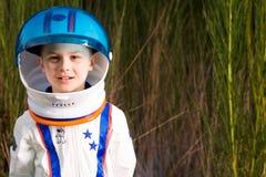 Młody astronauta Zdjęcie Stock