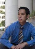 Młody Azjatycki biznesmen Fotografia Royalty Free