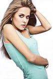 Młody caucasian kobieta model Zdjęcia Royalty Free