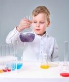 Młody experimentalist Zdjęcie Stock
