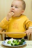 młody jedzenia Obraz Stock
