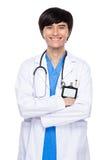 Młody lekarza medycyny portret Zdjęcia Royalty Free