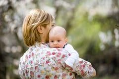 Młody mama z dzieckiem Zdjęcie Stock