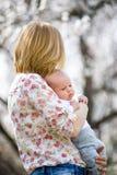 Młody mama z dzieckiem Obraz Stock