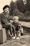 Młody poszukiwacz przygód Zdjęcia Stock