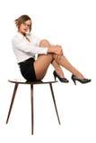 Młody powabny bizneswoman Zdjęcia Royalty Free