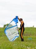 Młody surfingowiec Fotografia Royalty Free