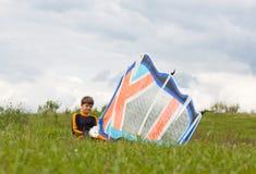 Młody surfingowiec Zdjęcia Stock