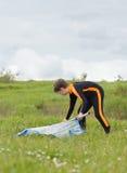 Młody surfingowiec Obraz Royalty Free