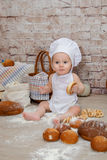 Młody szef kuchni Obraz Stock